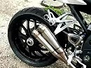 Auspuffanlage Cobra an Triumph Speed Triple 1050