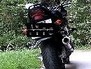 Suzuki Bandit B12 GSF1200S mit Auspuffanlage Hurric Supersport