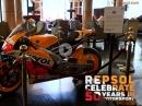 Ausstellung in Barcelona zum 50. Geburtstag von Repsol - Da passiert was !