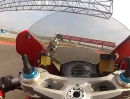 Austin Circuit Amerikas onboard Lap Ducati Panigale 1199R
