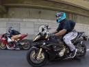 Autobahn Spielchen: Kawasaki H2 vs Honda CBR1000RR vs Kawasaki ZX10 vs BMW S1000RR vs Yamaha R1M