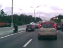 Autobahn Vollgas: Ist die Straße nicht mehr frei, knall ich halt ganz links vorbei
