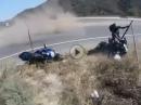 Autobahnende = übler Crash: Folge NIEMALS blind Deinem Vordermann