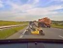 Motorradunfall weil Autofahrer ausgebremst - dämliche Aktion!