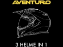 Aventuro Carbon Helm - der 3 in 1 Helm Touratech cooles Ding