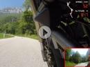 Avio - Monte Baldo mit Ducati Monster. Freie Fahrt auf schöner Strecke
