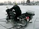 Bärbel on Ice - Gespannfahren auf zugefrorenem See
