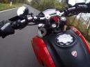 Herbstliches ballern mit Ducati Hypermotard 939