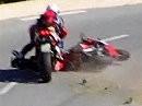 Ballern vs. Landstraße / Ducati vs. Bimota / Schutzengel vs. Crash