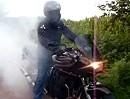Suzuki Bandit Burnout