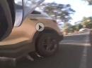 Baustelle, Ampel grün, Gegenverkehr, Crash - keine Chance :-(