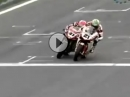 Bayliss vs. Haga, geile Battle, SBK 2008, Vallelunga (Italien)
