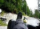 Beim Filmen mit Motorrad umgefallen :-)