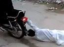 Beim Wheelie sollte man sich festhalten, sonst gehts auf die Fresse