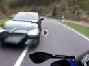 Beinah Crash: Außenspiegel trifft Bürgerkäfig Das war knapp!