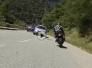 """Beinah Crash: Auto überholt in Gegenverkehr - täglicher """"Wahnsinn"""""""