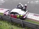 Beinah Crash Nordschleife - Auto top reagiert, Arsch gerettet