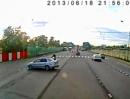 Beinah Crash Zusammestoß: Puuuh DAS war knapp Schutzengel aufgepasst