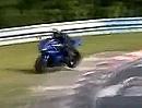 Beinah Motorrad Crash Nürburgring Nordschleife, 2 x Glück, einatmen, ausatmen ...