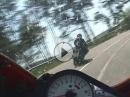 Beinah Motorradunfall Eifel: Verbremst? Fahrfehler? Zu schnell? Preßatmung