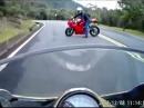 Beinah Unfall: Wenden auf der Fahrbahn: Trottel unterwegs