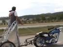Ben Hur auf Harley, Asphalt Gladiator: Die spinnen die Amis