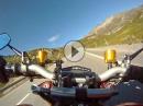 Bernina Pass (Passo del Bernina), Graubünden, Ducati Streetfighter S