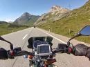 Berninapass von der Abzweigung nach Livigno nach Pontresina