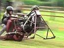 Bescheuert? Unimotorcyle Championship 2009 - Motorrad mit einem Rad, viel Dreck und Fun. Abgefahren und Funny