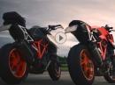 Beschleunigungstest: KTM 1290 Superduke R, alt vs. neu by KurvenradiusTV