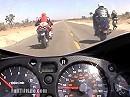 Beschleunigungstest: Suzuki Hayabusa vs. BMW R1100 S