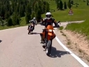Best of Dolomiten 2012 | KTM LC4 640 Supermoto & BMW G650 XMOTO