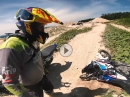 Best Of [froad] bei High Enduro End mit Honda Africa Twin / Chain Brothers - Crash inklusive