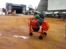 Betonmischer Mopped Eigenbau - Schlechtwetter - Bike