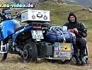 Bewundernswert: Tony, querschnittgelähmt mit dem Motorrad durch Island