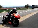 Max Biaggi satisfied with new Aprilia RSV4 at Kyalami test -MCN