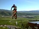 Big Jump - Robbie Maddison vs Skisprungschanze - Eier, ganz dicke Eier.