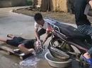 Bike Figaro: Haare waschen und einmal fönen bitte! Kann man so machen ;-)