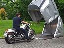 Bikebox24 wetterfeste und abschließbare Einzelgarage