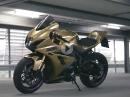 Bikeporn: Gold folierte Suzuki GSXR 1000R von Raudio by MMOTION