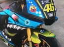 BikePorn 'Rossi-Bike' Yamaha R1 RN32 von einem echten Fan