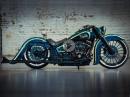 BikePorn Thunderbike La Esmeralda, Basis: Harley-Davidson Heritage by Thunderbike