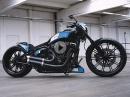 Bikeporn Thunderbike Razor 2.0 - customized Harley-Davidson Breakout von Thunderbike