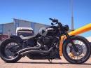 Bikeporn Thunderbike Streets of London - customized Harley Davidson Street Bob