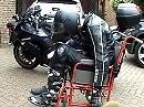 """Biker got high"" - wie geil ist das denn? Zugedröhnter Motorradfahrer"