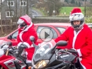 'BikerIn mit Herz' Nikolausaktion im Kinderhospiz Buchholz in Wuppertal