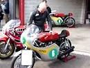 Biker´s Classic Spa: Honda RC 162 Warmup