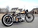 "Bildschön!! 1956 Triumph TR6 Kustom Bobber built by Dan Patterson. ""Angry Monkey"" Running at last!"