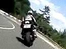Blankenburg (Harz) hinter Kawasaki ZX 10