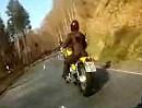 Motorradtour / Kameratest Bergrennstrecke Blasbach - Hohensolms (Hessen)